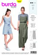 6408 Burda Pattern: ladies Jumpsuit